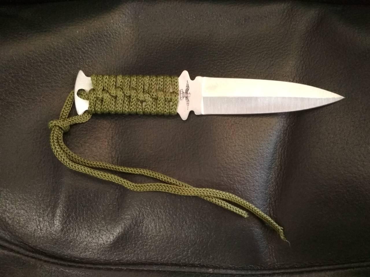 Метательный нож 201ср сбалансированный клинок.