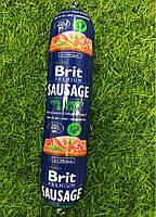 Корм Брит Премиум Brit Premium Sausage колбаса для собак с индейкой и горохом 800 г