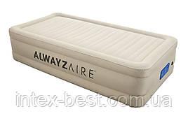 Надувная кровать BestWay 191х97х43 см (69030) с электронасосом
