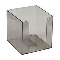 Куб для бумаги Delta D4005-28, 90х90х90 мм, дымчатый