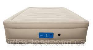 69032 BW Надувная кровать Alwayzaire Fortech 203х152х43см, встроенный электронасос с автоподкачкой