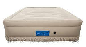69032 BW Надувная кровать Alwayzaire Fortech 203х152х43см, встроенный электронасос с автоподкачкой, фото 2