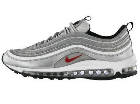 Мужские кроссовки Nike Air Max 97 Silver Gray (Реплика ААА класса), фото 107548d784e