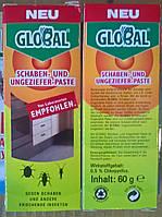 Паста для уничтожения тараканов и вредных насекомых Глобал/Global, 60 гр