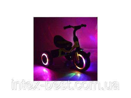 Трехколесный велосипед Turbo Trike M3649-M-2 (Малиновый), фото 2