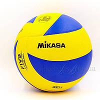 Мяч волейбольный Клееный PU MIK VB-1846 MVA-330