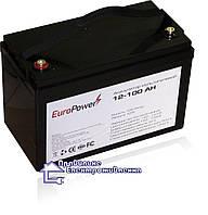 Мультигелева акумуляторна батарея EuroPower 12-100 Аh, фото 1