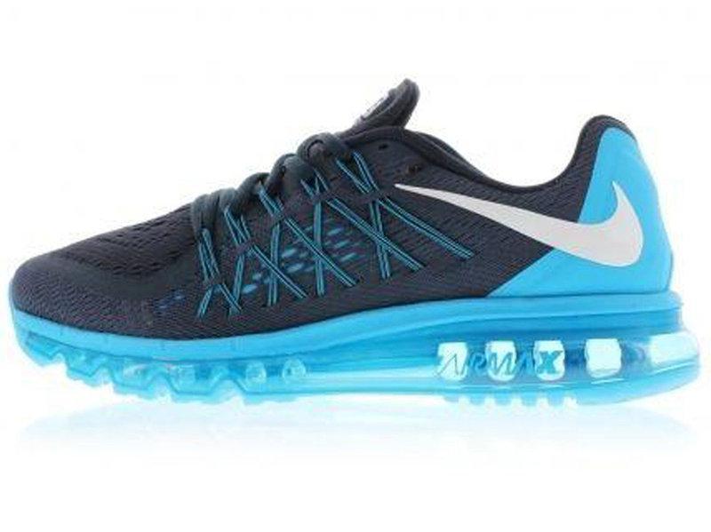 4a41415d Мужские кроссовки Nike Air Max 2015 Blue/Black - FREE CHOICE - ИНТЕРНЕТ -МАГАЗИН
