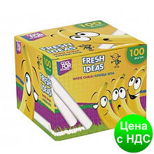 Мел школьный белый Fresh Ideas, 100 шт. CF60702