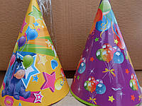Колпачек на день рождения объем 10см*высота 13см