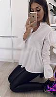Женская кофта, вискозный шёлк, р-р 42-44; 46-48 (белый)