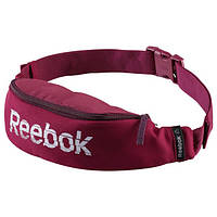 Сумка  на пояс Reebok Found Waistbag бордовая, фото 1