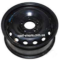 Диск колёсный 6.5J R16 металл 16*6,5/5*130/66/89,1 Renault Master III 2010-2018
