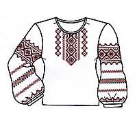 Заготовка для вышивки детской рубашки (для девочки) бисером №10 или нитками  (B 4269e4ff6b58d
