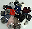 Комплект шапка с бубоном и хомут зимний м 6068, разные цвета, фото 4