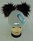 Шапка вязаная для девочки с помпонами 6089 кашемир р 3-12 лет, разные цвета, фото 2
