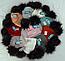 Шапка вязаная для девочки с помпонами 6089 кашемир р 3-12 лет, разные цвета, фото 4
