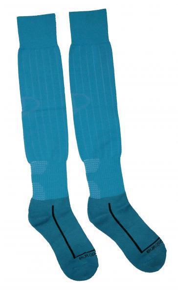 Гетры Europaw с трикотажным носком (бирюзовые )