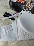 Бюстгальтеры нижнее бельё 4 m 2 чашка B размер 80-65 красивый кружевной чёрный-пуш ап-с узором, фото 4
