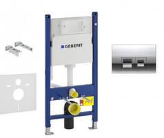 Инсталляция GEBERIT Duofix 458.126.00.1 с панелью смыва Delta 50 115.135.21.1