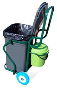 Профессиональные тележки для уборки территорий, фото 8