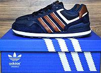 Кроссовки Adidas NEO синего цвета