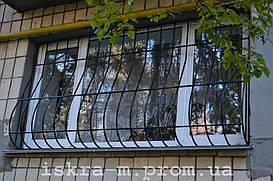Решетки луковичные на окна (Русановкая набережная)