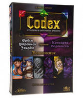 Codex: Белые против Фиолетовых (Codex: Card-Time Strategy Whitestar Order vs. Vortoss Conclave) настольная игра