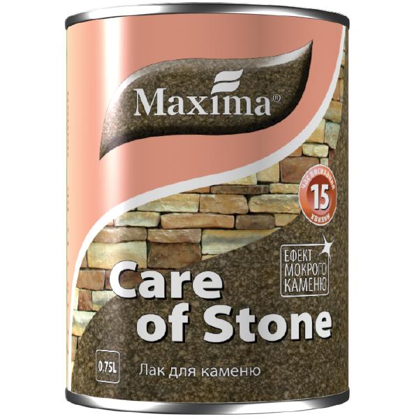 """Лак ТМ """"Maxima"""" для каменю напівматовий 0,75 л"""