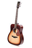 Акустическая гитара TREMBITA D-7 TOBACCO BURST, фото 1