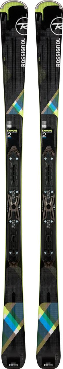 Горные лыжи ROSSIGNOL FAMOUS 2 + крепление Xpress W 10 B83 Black Lime