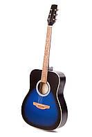 Акустическая гитара TREMBITA E-2 BLUE BURST