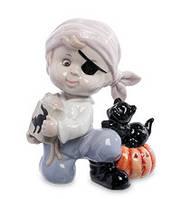 "Порцелянова статуетка ""Halloween"" хлопчик (Pavone) JP-11/13"