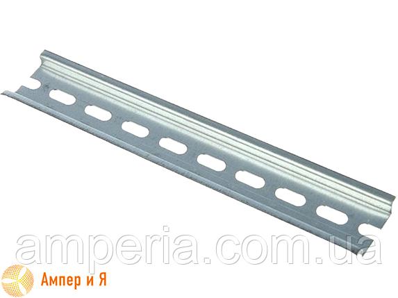DIN-рейка IEK оцинкованная 13 см (YDN10-0013), фото 2