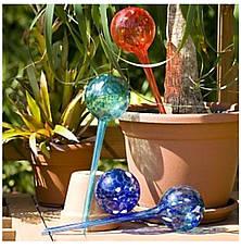 2x Стекляные шары для автополива растений Аква Глоб, Aqua Globes, F65, фото 2