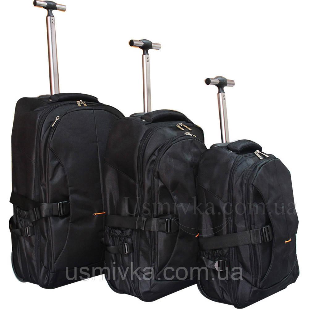 Комплект из 3-х швейцарские рюкзаки на колесах 097