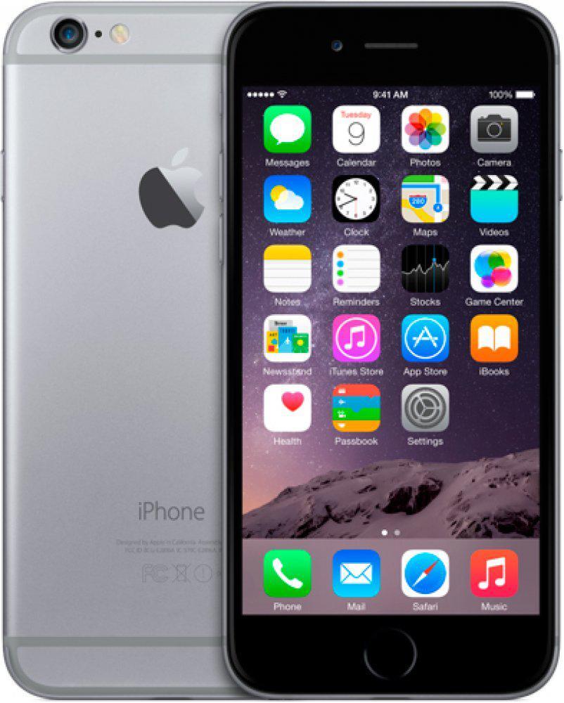 Apple iPhone 6 16GB Space Grey Neverlock как новый