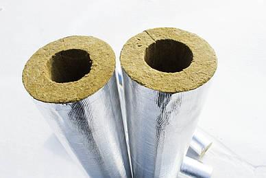 Цилиндры  базальтовые фольгированные ANTAL-PIPE ALU DN57х30мм