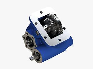 Коробка отбора мощности ZF 6S400 для IVECO