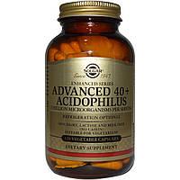 Пробиотики, Solgar, Ацидофилус 40+, 120 капсул
