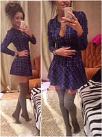 Платье в шотландскую клетку гн092