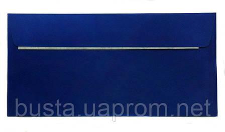 Конверт синий Е65 с клейкой лентой, фото 2