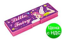 """Пенал пластиковый на магните, 2 отделения, """"Little Fairy"""", 7010 CF85523"""