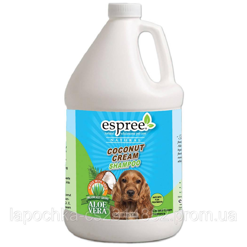 Шампунь Espree Coconut Cream Shampoo глубокое увлажнение, 3,79 л