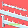 Флейта Кронштейн 10  Гвоздиков   45 см Овал на торговую   сетку  серая , белая  Украина