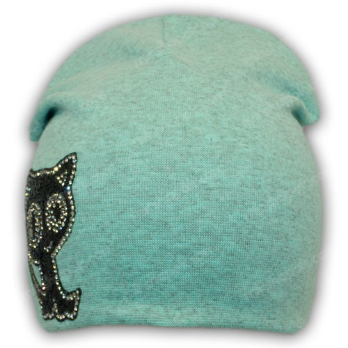 Двойная шапка на мальчика трикотаж