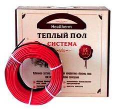 Heattherm теплый пол двужильный нагревательный кабель