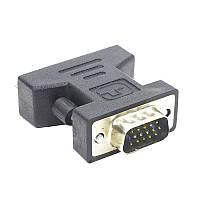 ➨Переходник Lesko VGA-DVI для подключения монитора к компьютеру