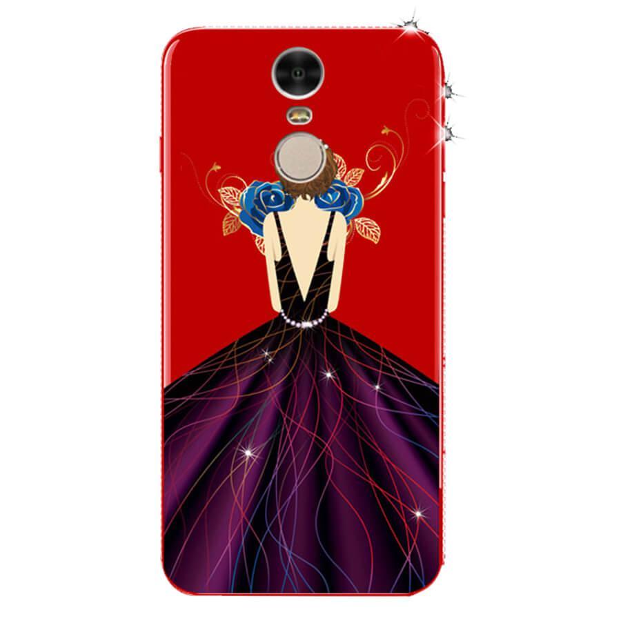 TPU чехол Magic Girl со стразами для Xiaomi Redmi Note 4X / Note 4 (Sn