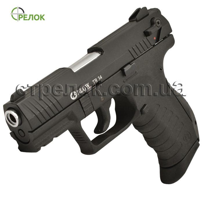 Пистолет стартовый Blow TR 34 с дополнительным магазином